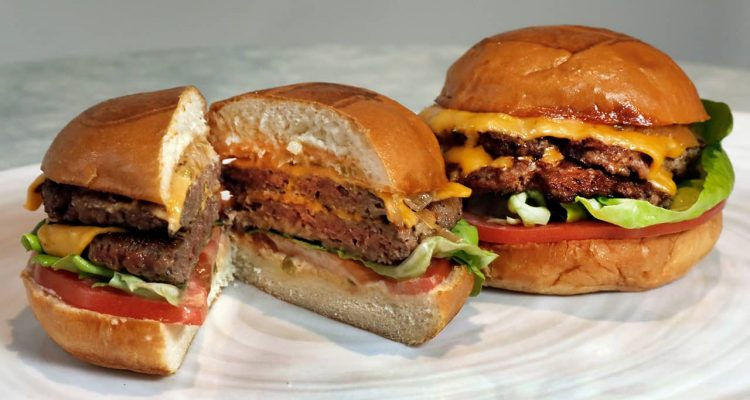 Photo of an Original Impossible Burger