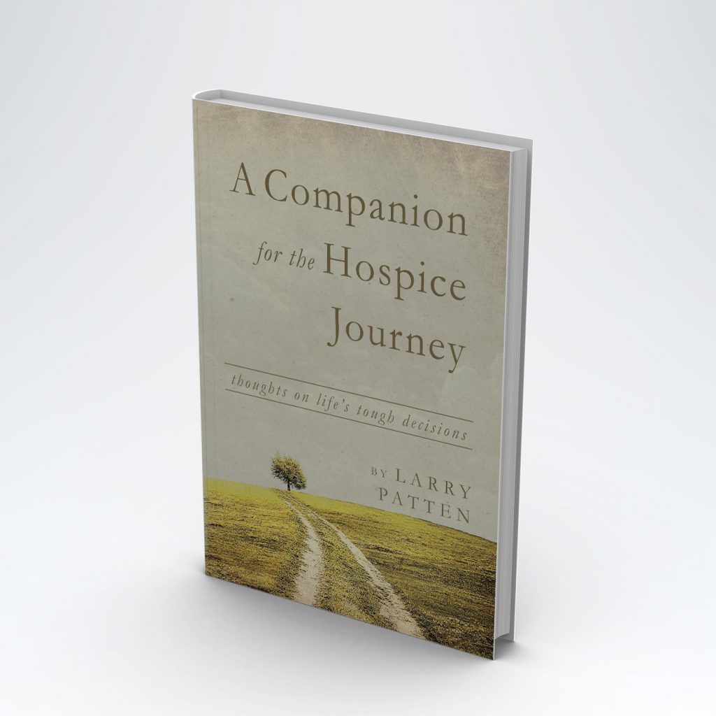 """Book cover of """"A Companion for the Hospice Journey"""""""