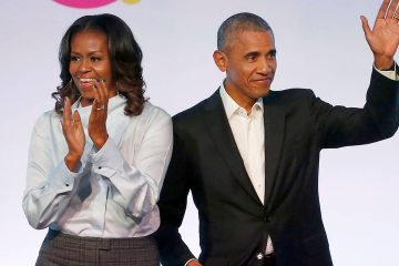 Photo of Barack and Michelle Obama