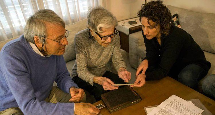 Photo of Israeli Holocaust survivors