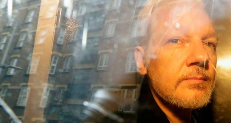 Photo of Julian Assange