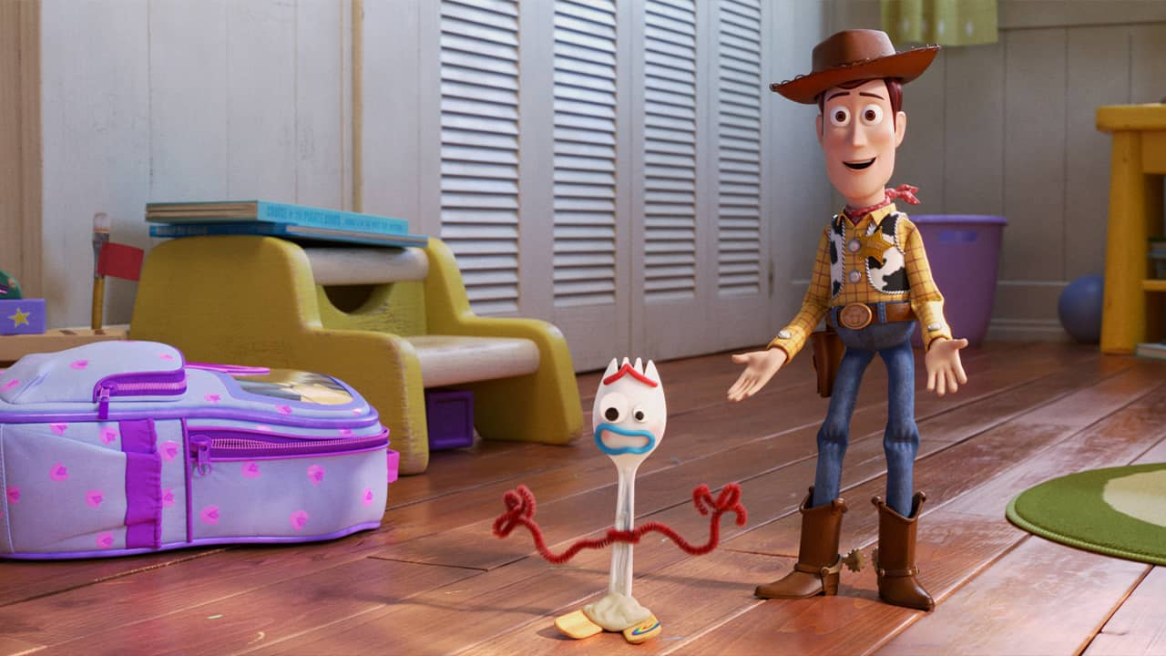 Photo of a scene from Toy Story 4
