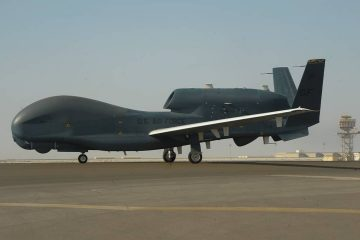 Photo of an RQ-4 Global Hawk