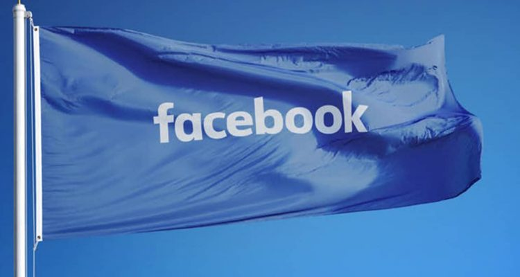 Photo of Facebook flag