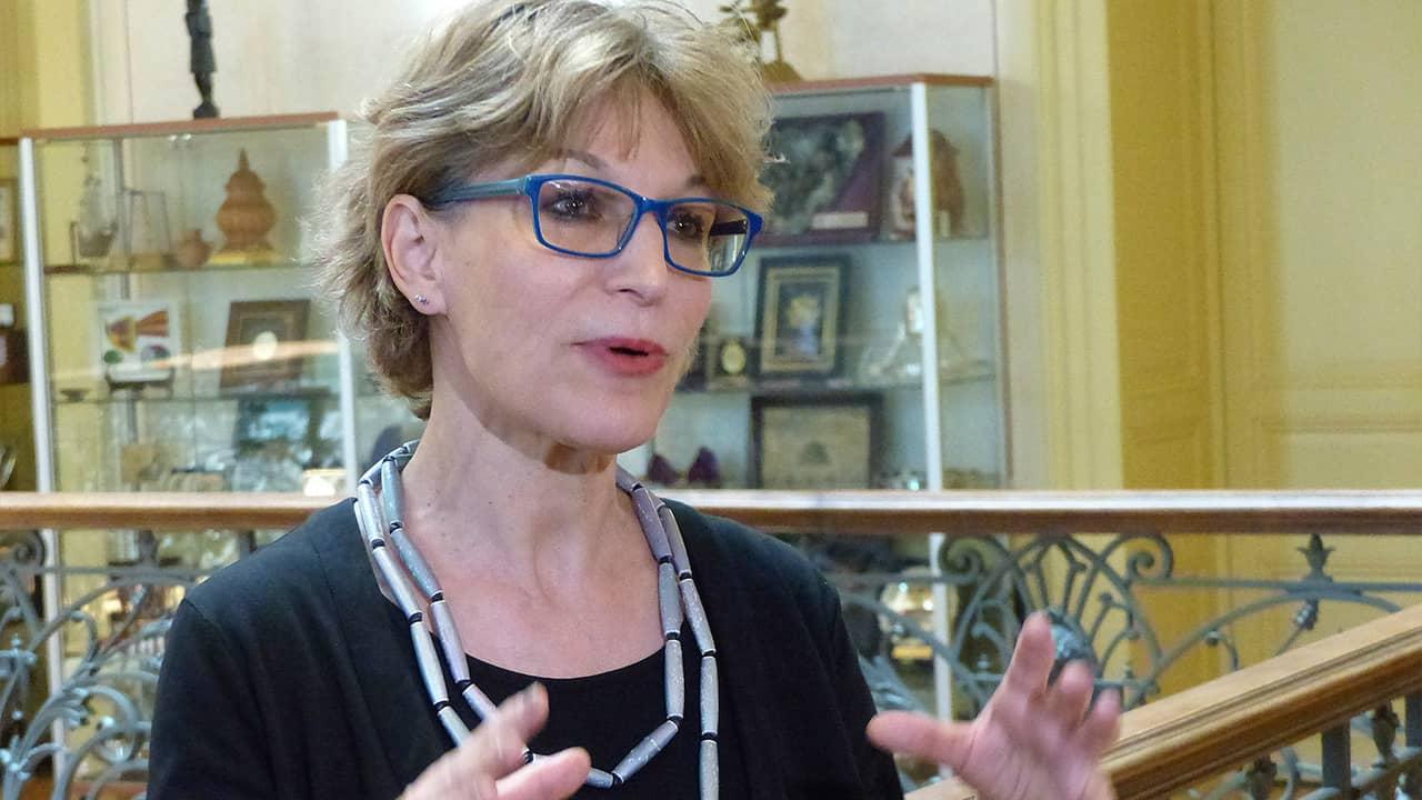 Photo of Agnes Callamard, a UN special rapporteur