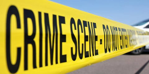 Photo of crime scene tape