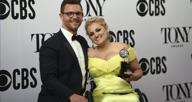 Photo of David Perlow and Ali Stroker