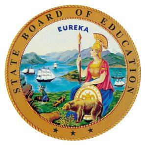 Logo for the California Board of Education