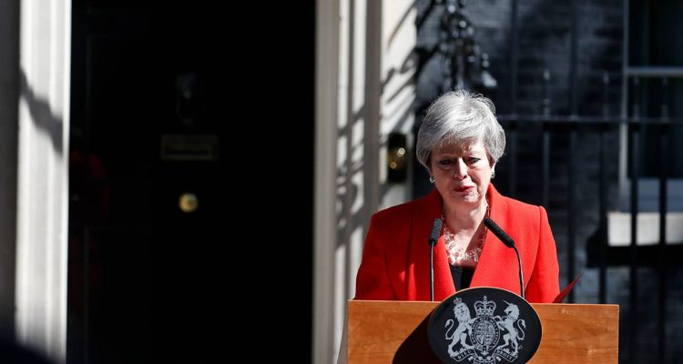 Photo of British Prime Minister Theresa May