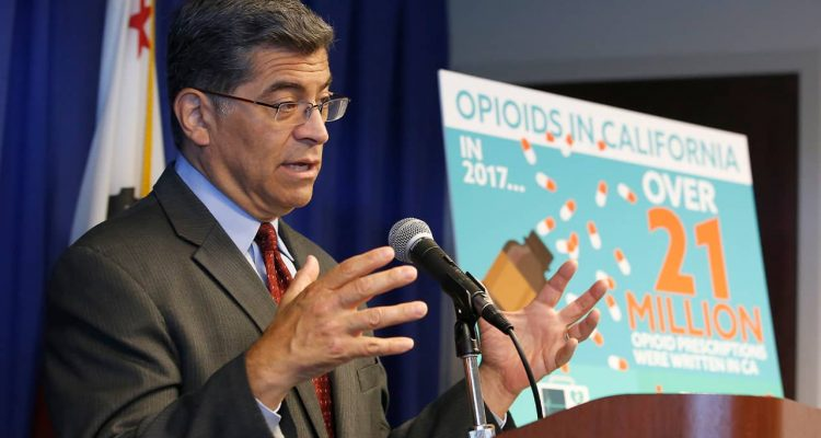 Photo of Attorney General Xavier Becerra