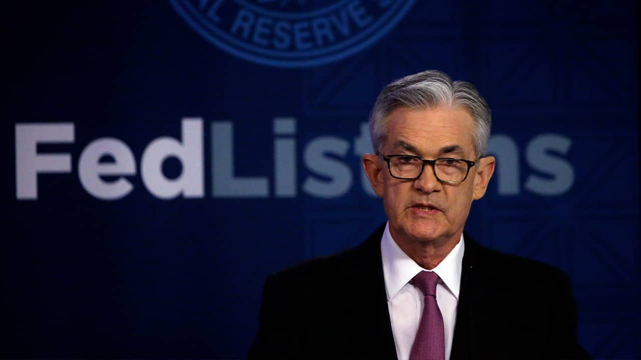 Photo of Jerome Powell