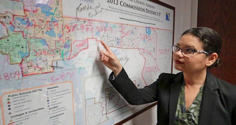 Photo of Orange County Commissioner Emily Bonilla