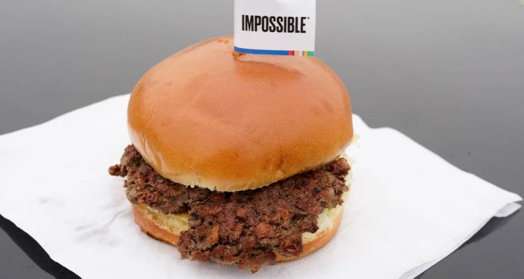 Photo of the Impossible Burger