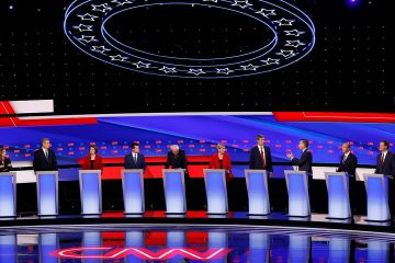 Photo of Democratic presidential primary debates hosted by CNN