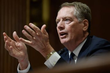 Photo of U.S. Trade Representative Robert Lighthizer