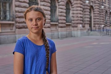 Photo of Greta Thunberg