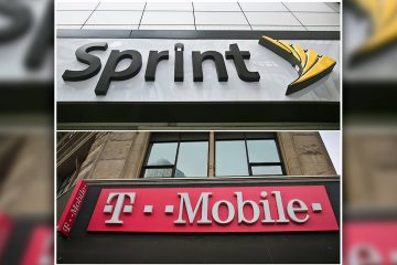 Photo of Sprint and T-Mobile stores in New York