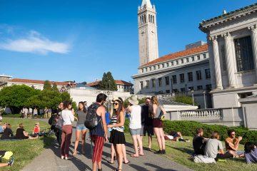 Photo of UC Berkeley campus