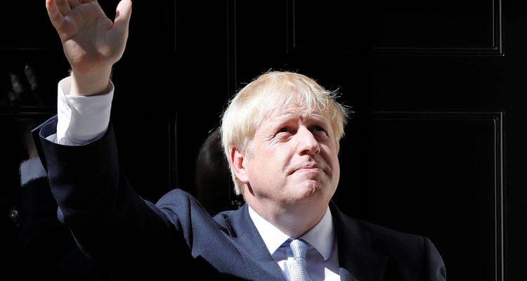 Photo of Britain's new Prime Minister Boris Johnson
