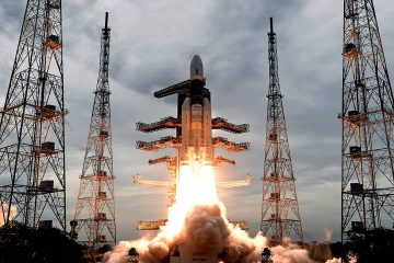 Photo of Geosynchronous Satellite launch Vehicle (GSLV) MkIII