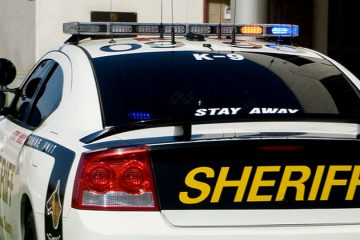 Stanislaus County Sheriff's Department vehicle