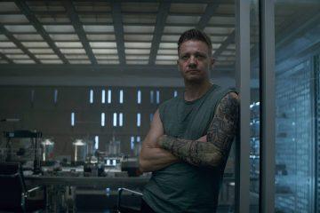 Photo of Hawkeye in a scene from Avengers: Endgame