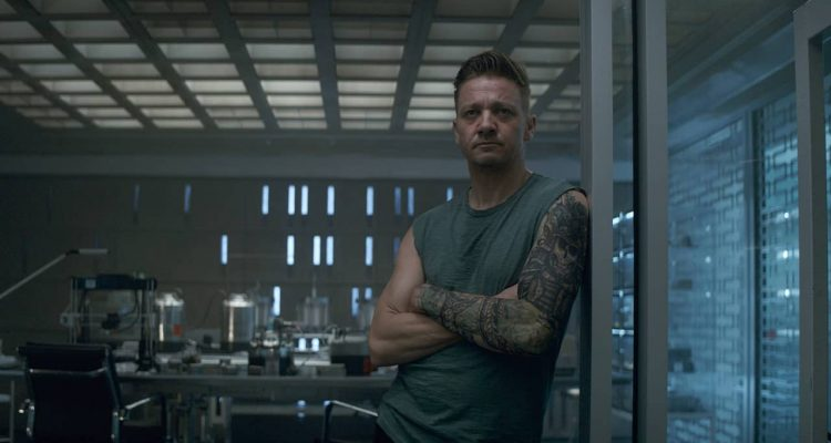 Photo of Hawkeye in a scene from Avengers: Endgame