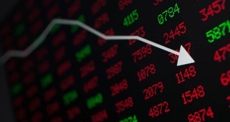 Photo of stock market down