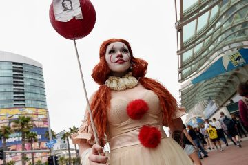 Photo of Ana Niebla of San Diego at Comic Con