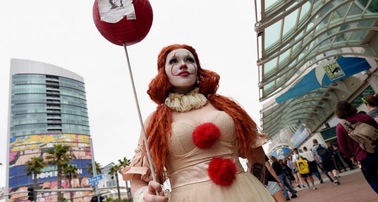 Photo of Ana Niebla of San Diego at Comic Con