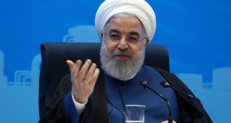 Photo fo President Hassan Rouhani