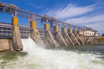 Photo of hydro power plant in Moldova