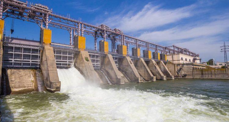 Photo of hydro power plant in Moldova