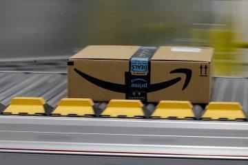 Photo of an Amazon Prime box