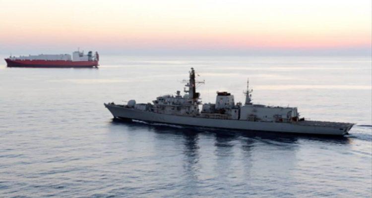 Photo of British navy vessel