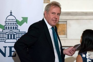 Photo of British Ambassador Kim Darroch