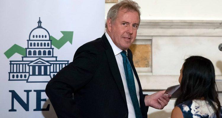 Photo of British Ambassador Kim Darroch