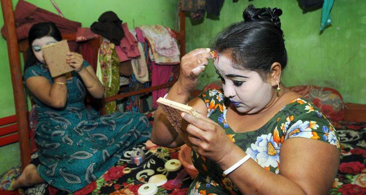 Photo of Bangladeshi sex workers