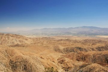 Photo of the San Andreas Fault Zone