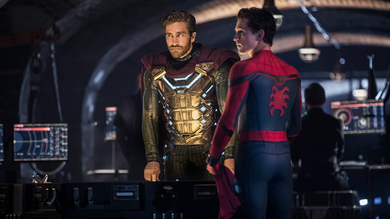 """Photo of a scene from """"Spider-Man: Far From Home"""""""