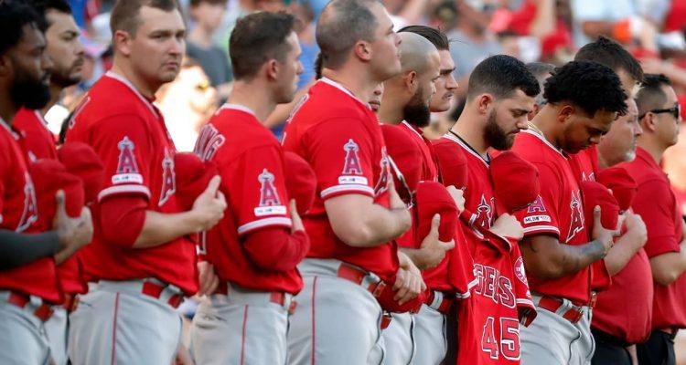 Photo of Los Angeles Angels baseball team