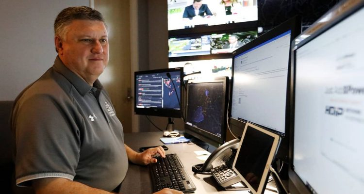 Photo of Paul Hildreth, emergency operations coordinator for the Fulton County School District