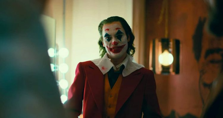 Photo of Joaquin Phoenix as the Joker