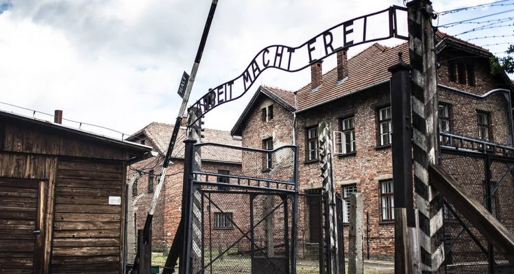Photo of the Holocaust Museum in AUSCHWITZ