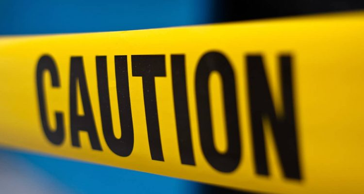 Photo of caution tape