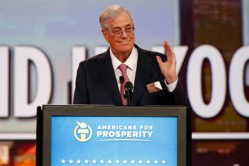 Photo of David Koch