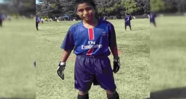 Photo of Adrian Antunez in his soccer uniform