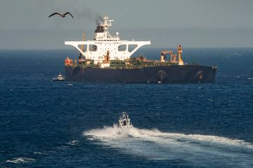 Photo of an Iran oil tanker