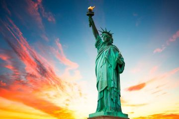 Beautiful photo of the Statue of Liberty