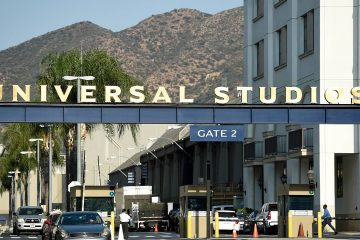 Photo of Universal Studios lot